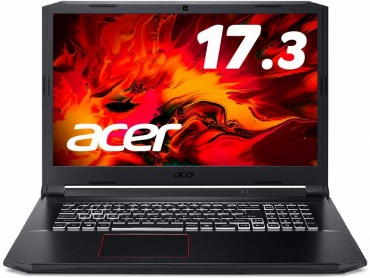 Acerゲーミングノートパソコン 17.3型 Nitro5