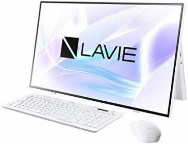 NEC 一体型デスクトップパソコン PC-HA700RAW LAVIE All-in-one