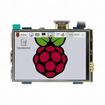 Raspberry Pi 3.5インチ LCDディスプレイHDMIモジュール
