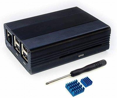 Raspberry Pi 3 Model B+ 専用アルミケース:VehiGo