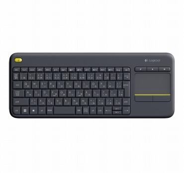 ロジクール ワイヤレス タッチキーボード K400pBK