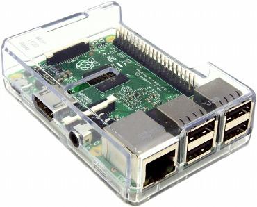 Raspberry Pi 3 価格の安い透明ケース<