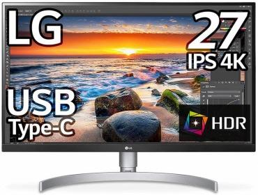 LG モニター 4K 27UK850-W 27インチ