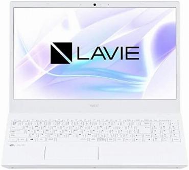 高齢者用のノートパソコン:大画面15.6インチ NEC LAVIE
