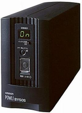 オムロン 無停電電源装置 500VA/300W BY50S