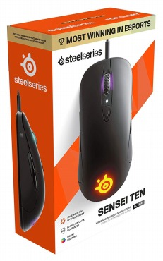 SteelSeriesゲーミングマウスSensei Ten 62527