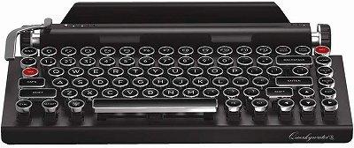 おしゃれでヴィンテージなデザインのキーボード