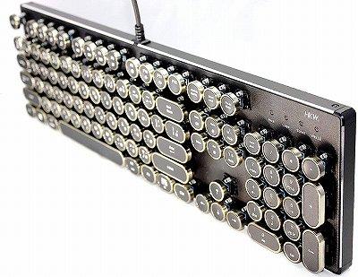 インテリアになるデザインのメカニカルキーボード