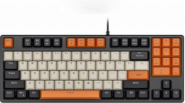 HAVIT 89キー ゲーミングキーボード US Layout KB487L-US