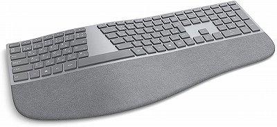 エルゴノミクスキーボード 無線 Surface