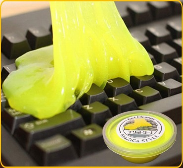 キーボードの掃除用スライム【除菌】