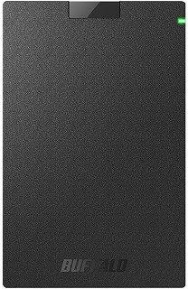 BUFFALO 外付けSSD:SSD-PG1.0U3-B/NL