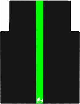 バウヒュッテ) ゲーミングチェアマット グリーン BCM-144N-GN