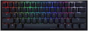 Ducky One 2ミニRGBチェリーMXスイッチPBTキーキャップ60%