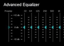 イコライザーで足音が聞きやすい音にバランスを調整する