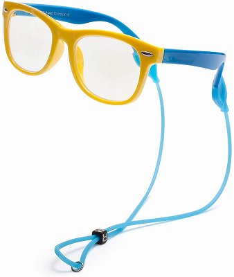 JIMMY ORANGE 子供のブルーライトメガネ