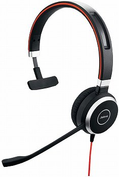 Jabra EVOLVE 40 MS Mono:片耳用