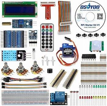 OSOYOO(オソヨー) Raspberry Pi 学ぶ電子工作キット:初心者向け