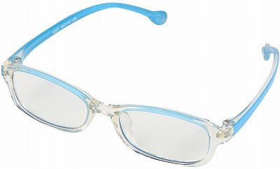 4歳から8歳向けのブルーライトメガネ