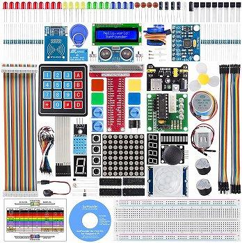 SunFounder Raspberry pi スターター電子工作キット:学習CD付き
