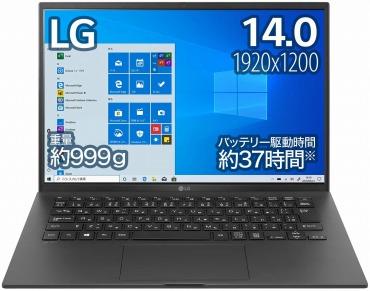ノートパソコン :LG gram
