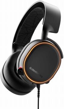 SteelSeries Arctis 5 Black 密閉型 ゲーミングヘッドセット
