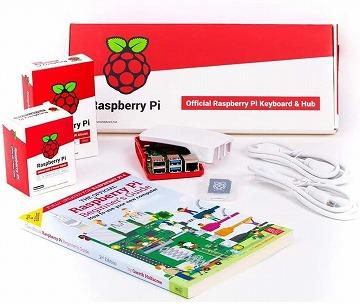 公式のRaspberry Pi 4 デスクトップキット
