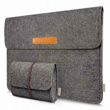 フェルトのおしゃれなSurface Pro7のバッグ