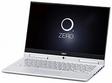 NECの軽いノートパソコンはPC-HZ550GAS LAVIE Hybrid ZERO