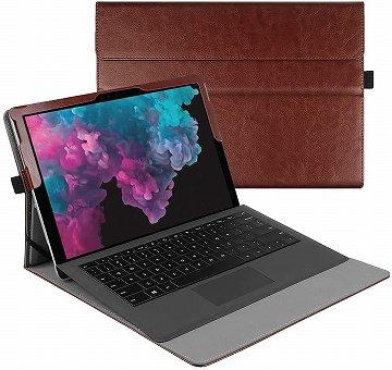 合成皮革の保護ケース:Surface Pro7対応