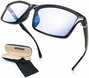 ウェリントンのブルーライトカットメガネ