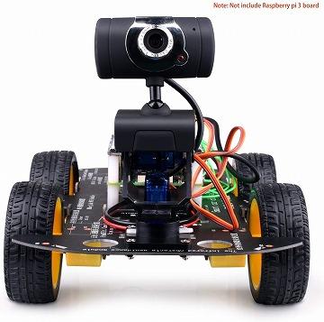 ロボットカー Raspberry Pi用:Kuman