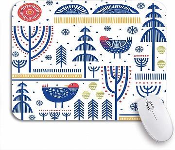 北欧デザインの可愛いマウスパッド