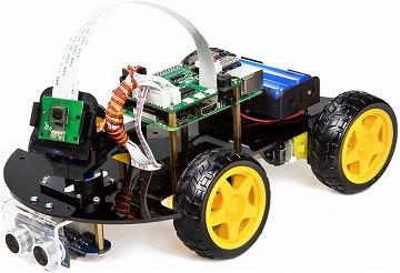 ラズベリーパイのロボットカー キット