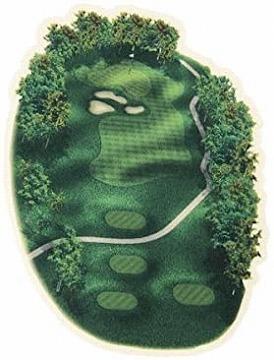 遊び心のあるおしゃれなマウスパッド:リアリティー ゴルフコース