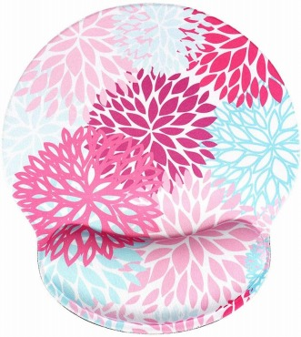 おしゃれな花のマウスパッド:AOKSUNOVA