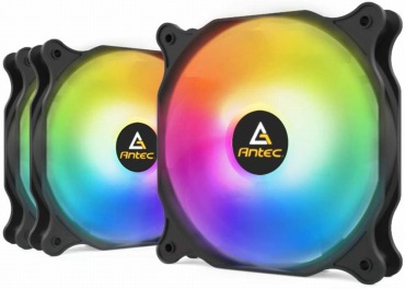 Antec 120mm PCケースファン F12 RGB 静音タイプ