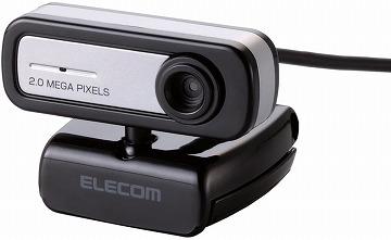 エレコム WEBカメラ UCAM-C0220FBNBK