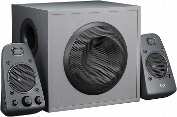 ロジクール PCスピーカー Z625 ブラック ステレオ 2.1ch