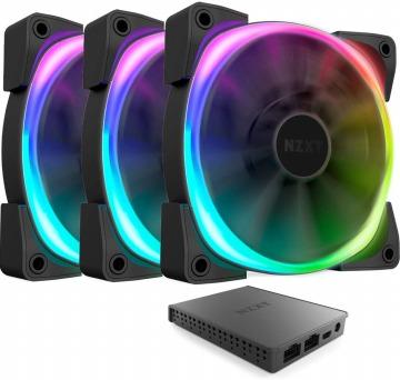 Nzxt AER RGB 2 ケースファン HF-2812C-TI