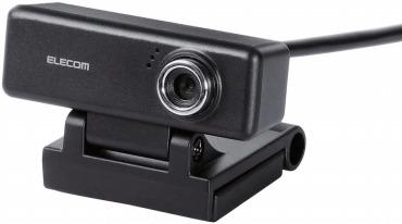 エレコム Webカメラ マイク内蔵 MAC対応:UCAM-C520FBBK