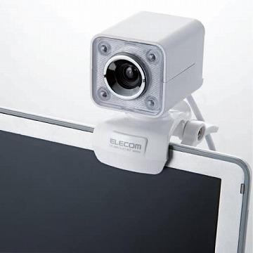 エレコム Webカメラ UCAM-DLK130TWH