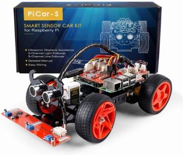 SunFounder Raspberry pi robot kit DIYラズベリーパイロボットキット