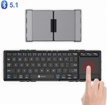 IC-BK08 iClever キーボード Bluetooth 折りたたみ