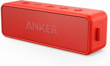 【改善版】Anker Soundcore 2 (12W Bluetooth5.0 スピーカー)完全ワイヤレスステレオ対応/強化された低音 / IPX7防水規格