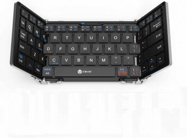 IC-BK03 iClever 折りたたみ式Bluetoothキーボード