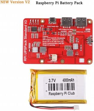 Raspberry Piリチウム電池の拡張ボード