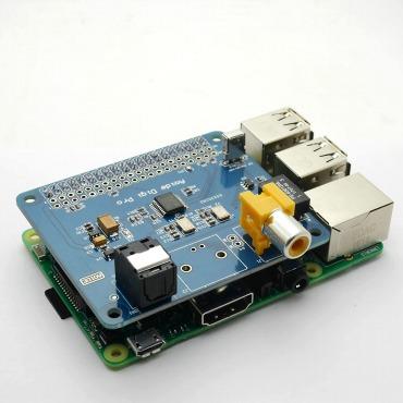 SupTronics® Raspberry Pi HIFI オーディオ専用ボード