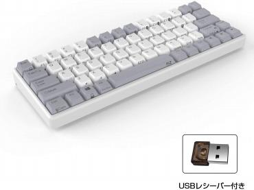 AKEEYO NiZ 静電容量無接点方式 パソコン用キーボード ワイヤレスキーボード