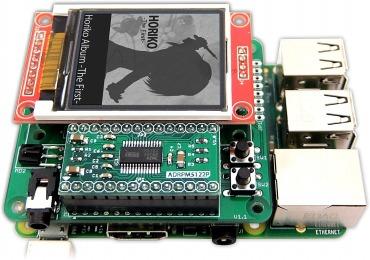 ADRPM ラズベリーパイ用ハイレゾDAC拡張ボード